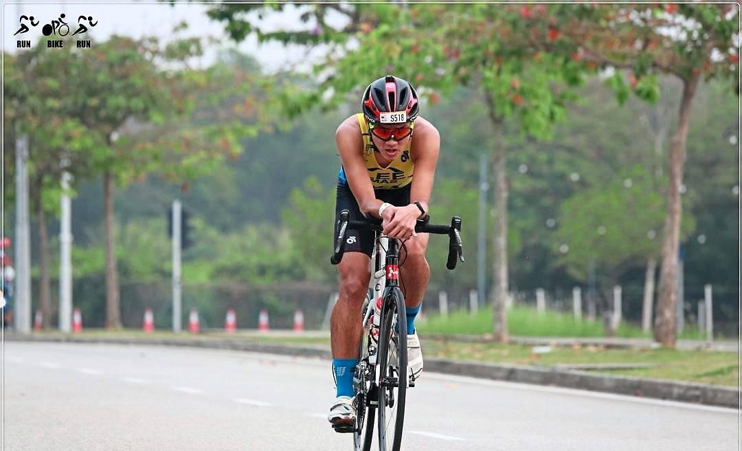 It pays to keep trying as triathlete Wen Jun eyes medal