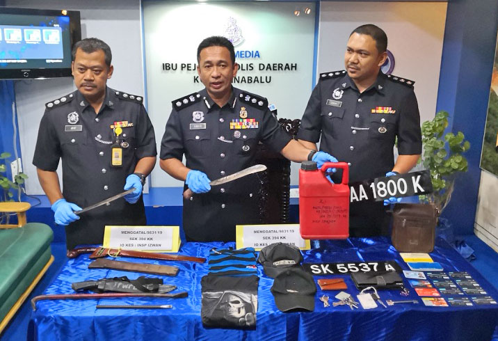 Three suspects arrested over convenience store robberies