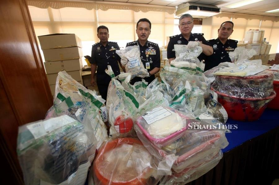RM1.6 million worth of illegal drugs to be destroyed in Negri Sembilan