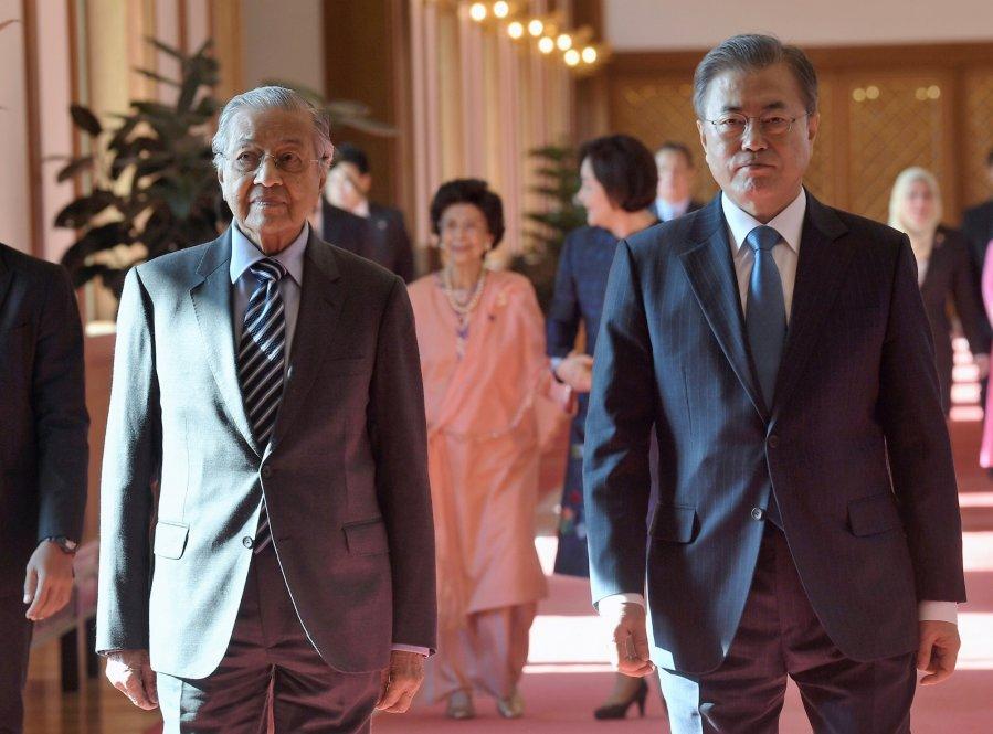 敦马勉励国人 学习韩国科技及敬业态度