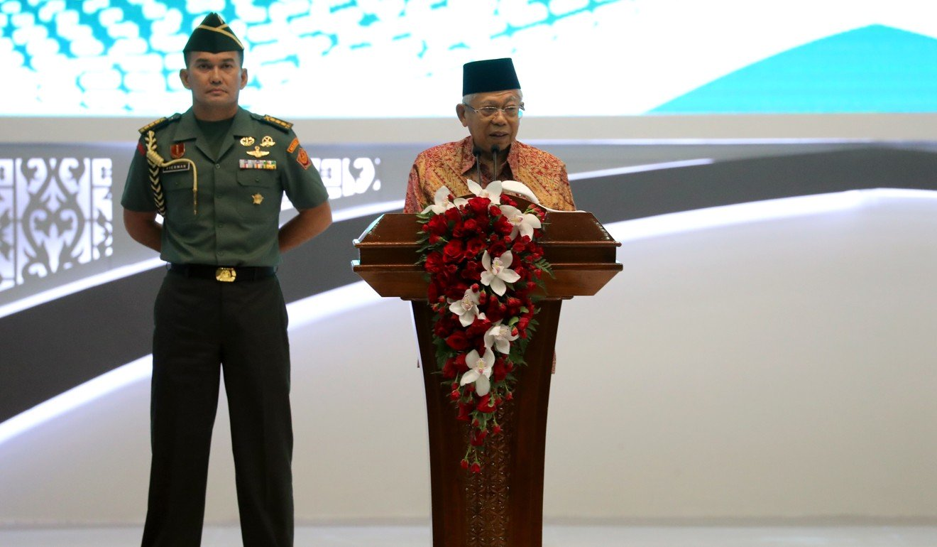 Indonesia's Ma'ruf Amin to fight radicalisation that has spread from 'play groups to government'