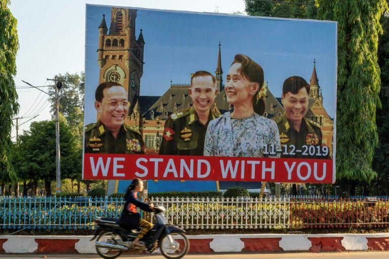 High stakes: Myanmar's lady gambles image in rohingya genocide lawsuit
