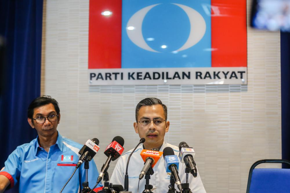 PKR comms chief says Youth wing row won't put party in RoS sights