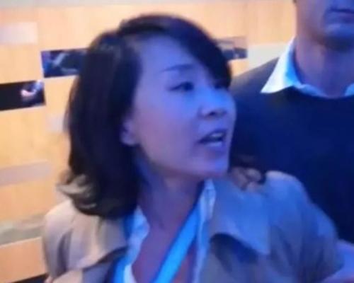 央视记者孔琳琳打人有条件释放 中国驻英大使感震惊愤怒