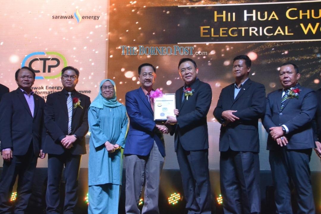 SEB contractors win top accolades at awards ceremony