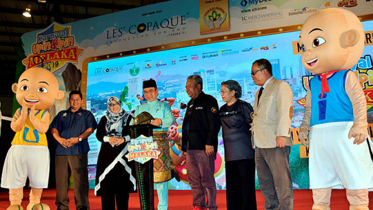 Malacca plans to turn Upin & Ipin into tourism product