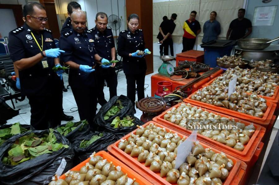 Foreigner nabbed at Penang airport with 2.3kg of heroin wrapped around waist