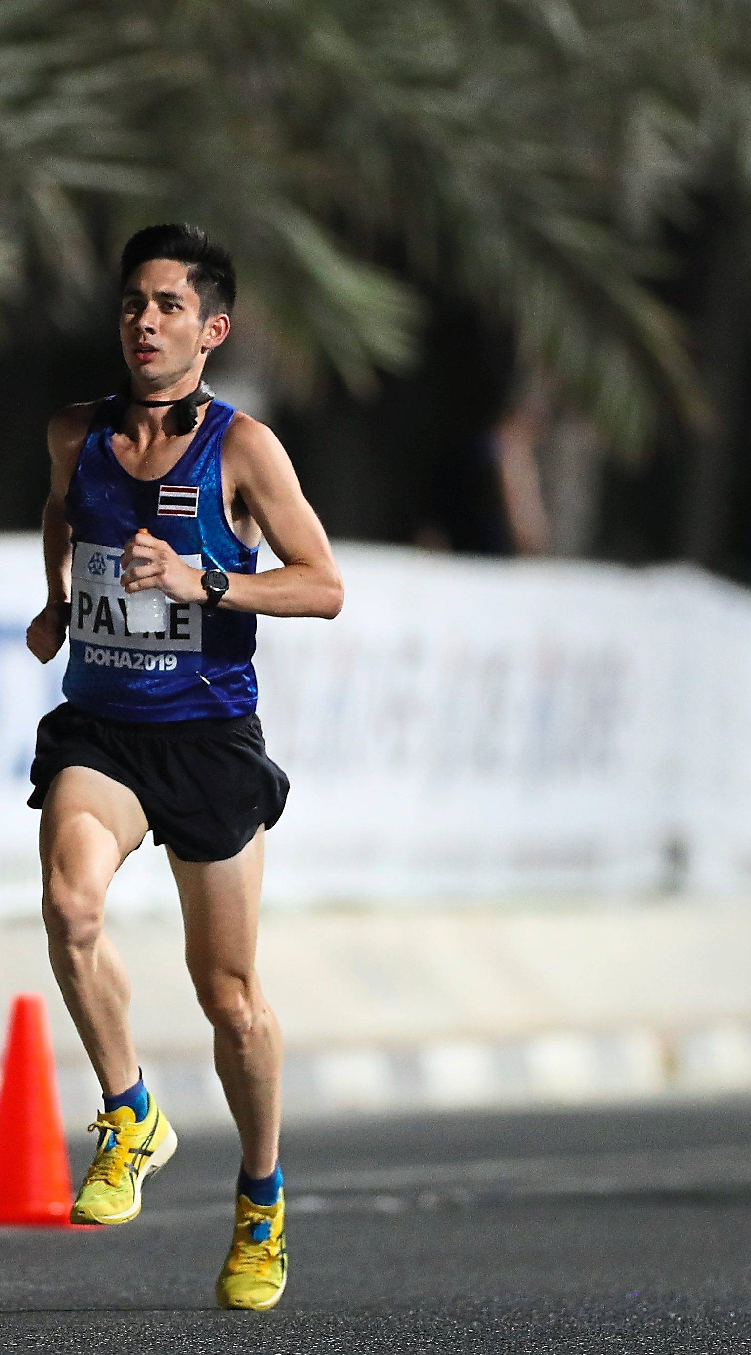 Kiwi turned Thai a pain for marathon runners