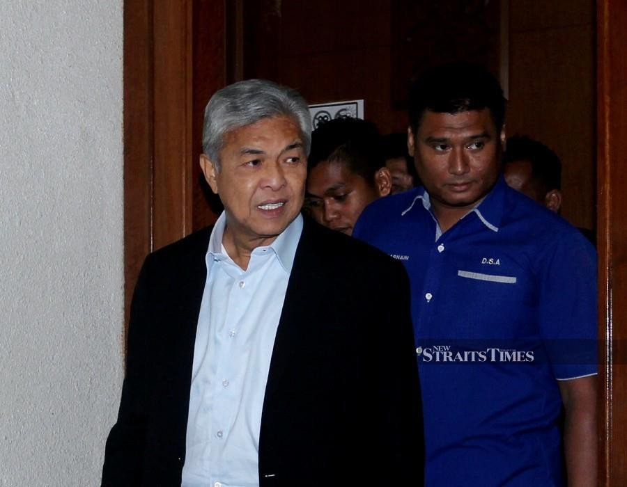 Zahid and wife spent close to RM1.3m in 2 years