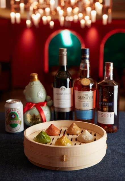 Paradise dynasty now has alcoholic xlb with rice beer & red wine fillings till 19 Jan