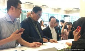 Jiao Zong denies late notice to MOE, says requested appointment day before