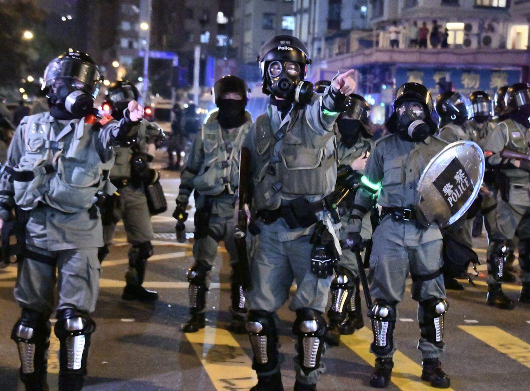 【修例风波】警:警员冀营造团队精神 装备贴布章无可厚非