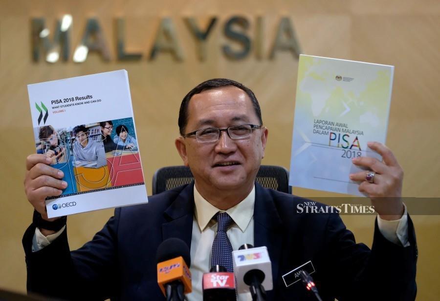 Malaysia's PISA ranking improves