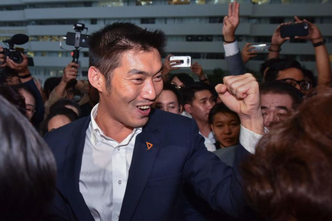 Thai opposition leader Thanathorn says protests possible as tension climbs
