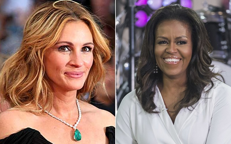 Julia Roberts, Michelle Obama to visit KL in girl power push