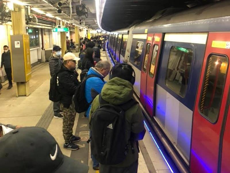 太和站列车故障 东铁缐服务一度受影响