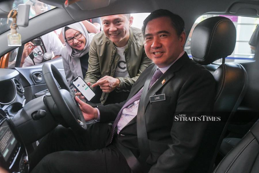 Loke: 91,978 e-hailing drivers have obtained PSV licence