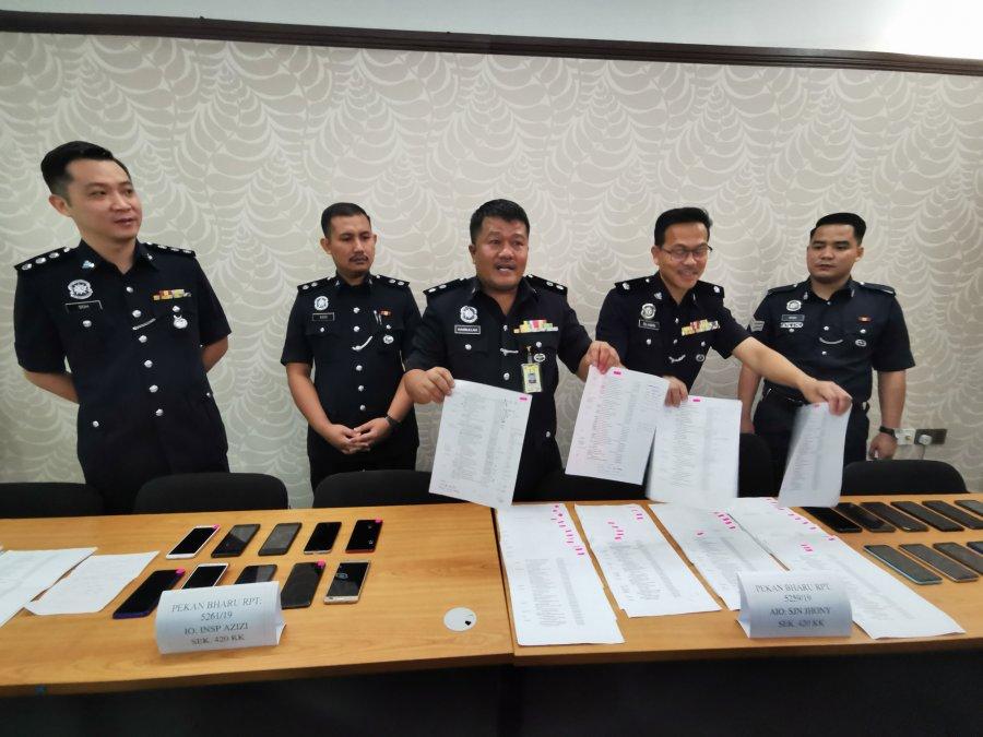 诈骗集团遭警方捣破 逮捕13名男女嫌犯