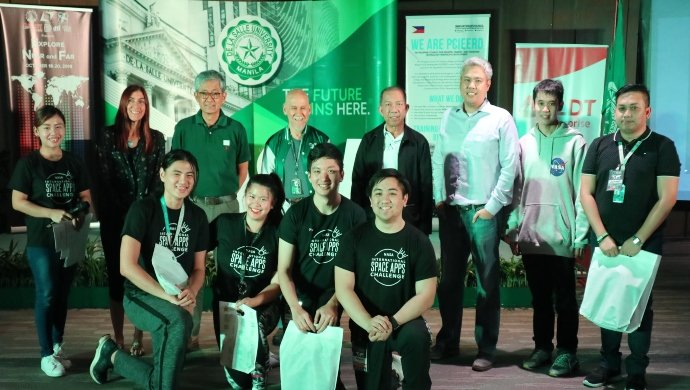 Filipino ocean waste collector, dengue mapper startups join NASA hackathon, leveraging space data for their solutions
