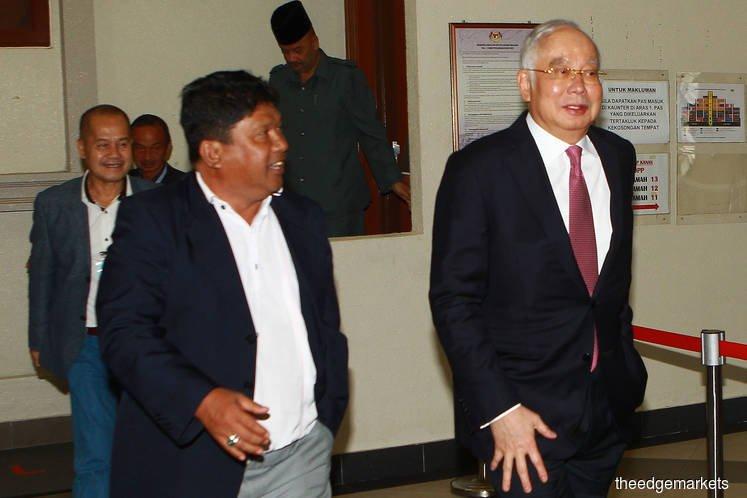 Najib schools 'office boy' Husni, says his former deputy intent on tarnishing him