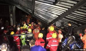 Death toll rises to nine in East China sewage tank collapse