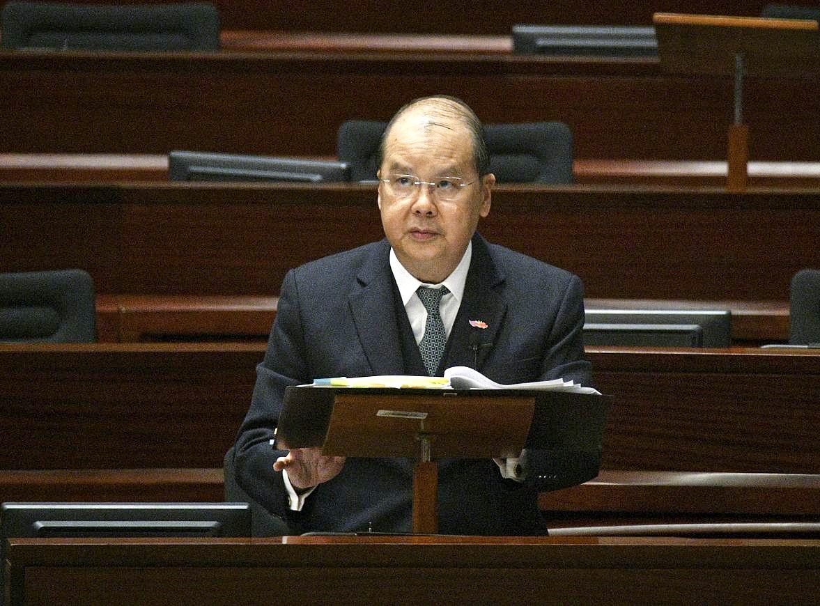 法官参与反修例联署 张建宗:终院首席法官已提醒遵守行为指引