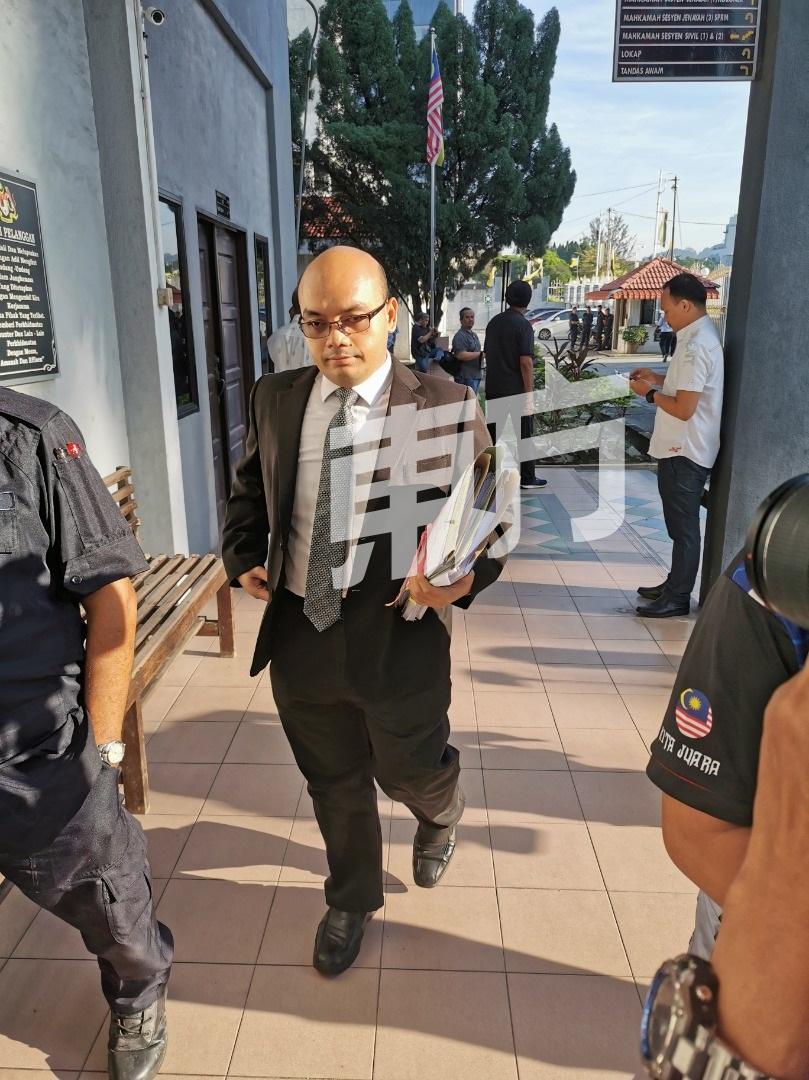 杨祖强被控性侵女佣案 今重返怡保地庭过堂