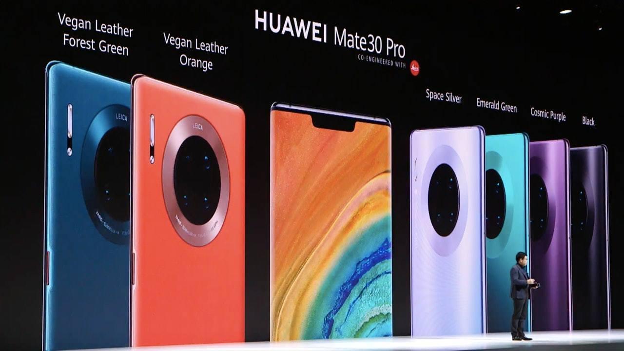 华为Mate30 Pro手机取消在台开售 系统曾惹「中国台湾」争议