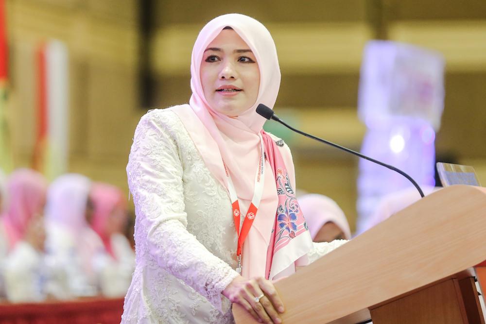 At annual meet, Puteri Umno chief bids to paint DAP as master of Pakatan