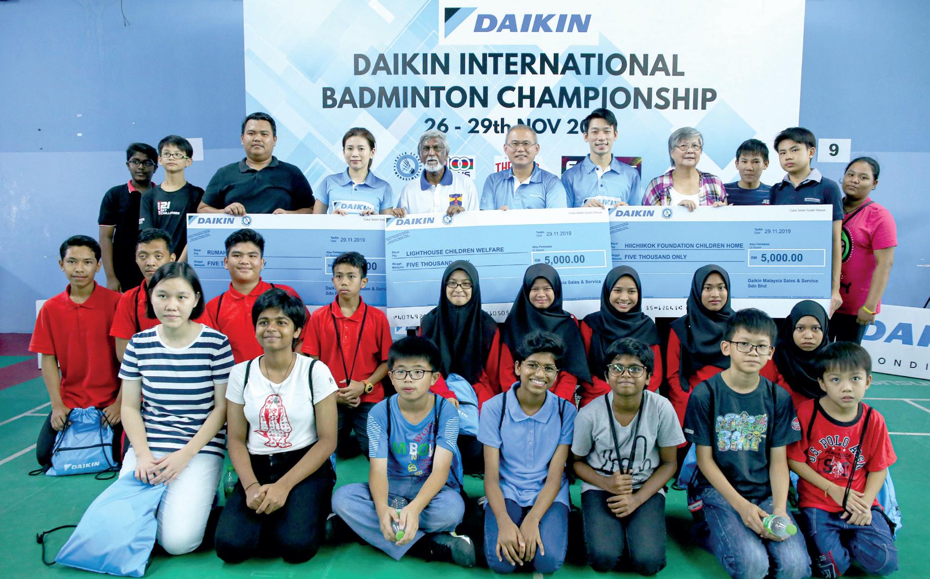 Not just another Daikin badminton tournament