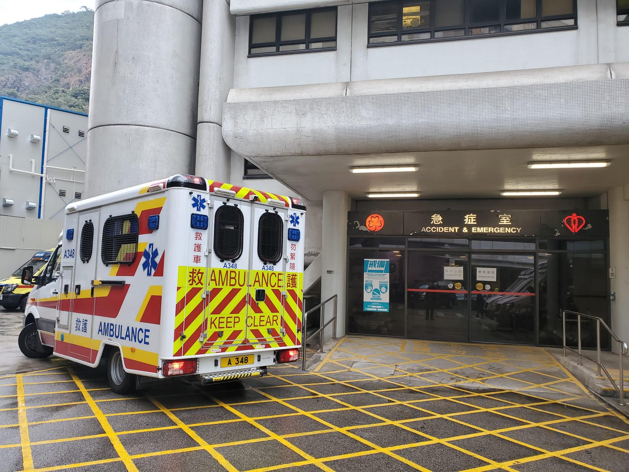 石排湾邨未满月男婴家中昏迷 送院不治