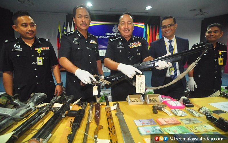 3 drug dealers killed in shootout with Sabah cops