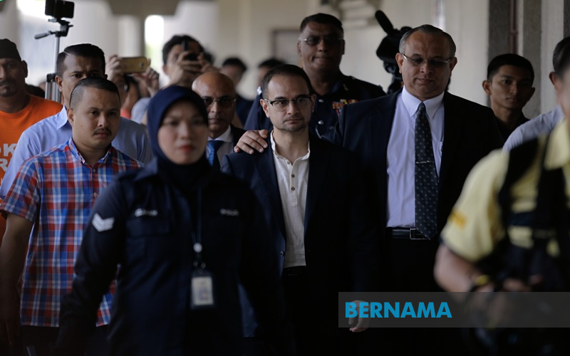 Riza Aziz files representation for review of money laundering charges