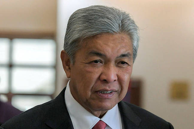 Zahid took 39 insurance policies for 20 vehicles totalling RM72,209.57