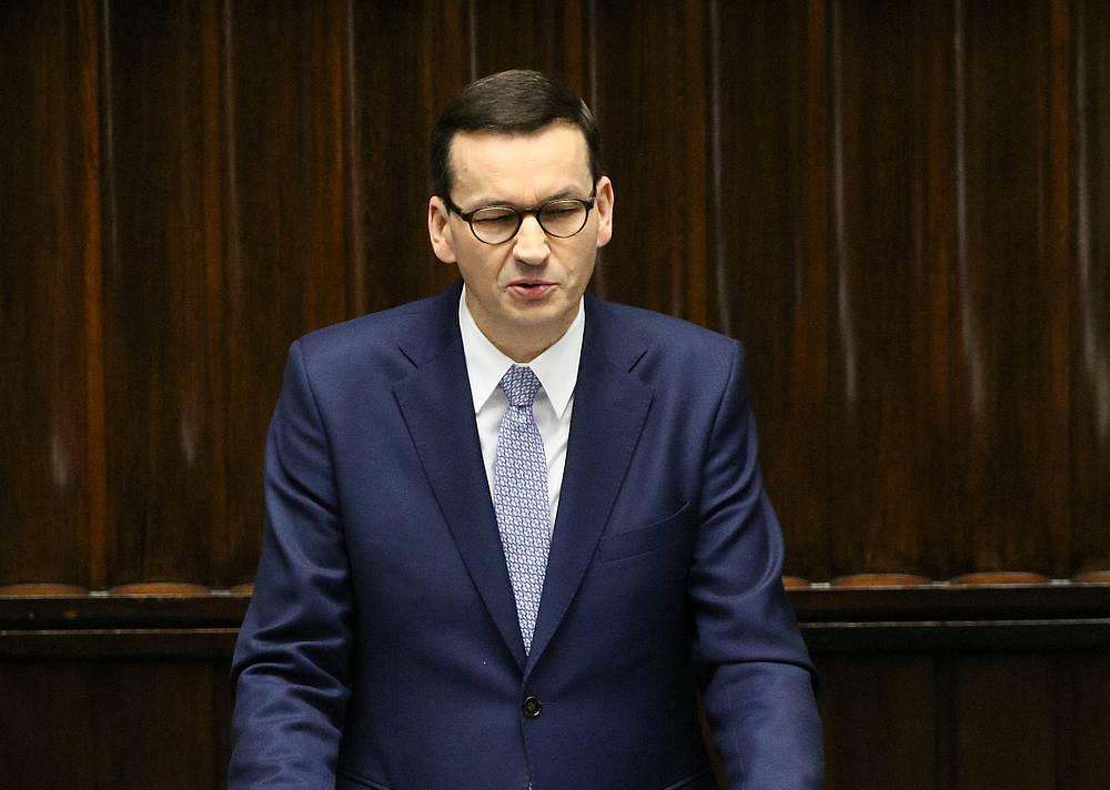 Poland cancels all mass events due to coronavirus, PM says