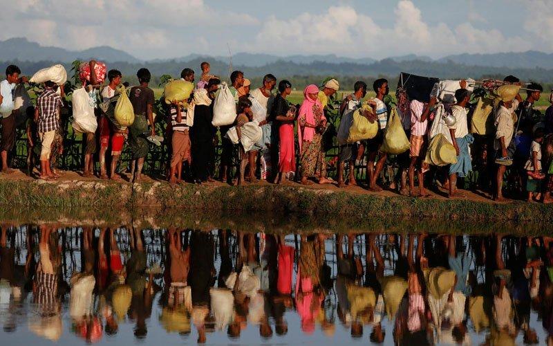 14 Rohingya die, dozens unaccounted for as boat capsizes off Bangladesh