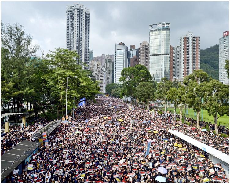 【修例风波】回应民阵明日游行 港府吁和平理性
