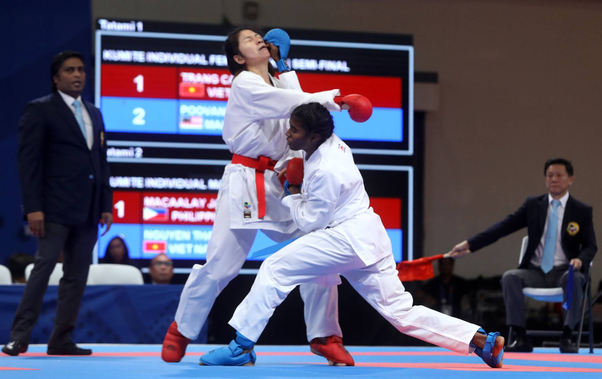Madhuri picks up Malaysia's second SEA Games karate gold