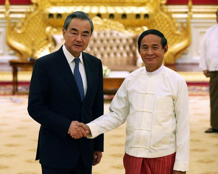 王毅:中方坚定支持缅甸走符自身国情发展道路