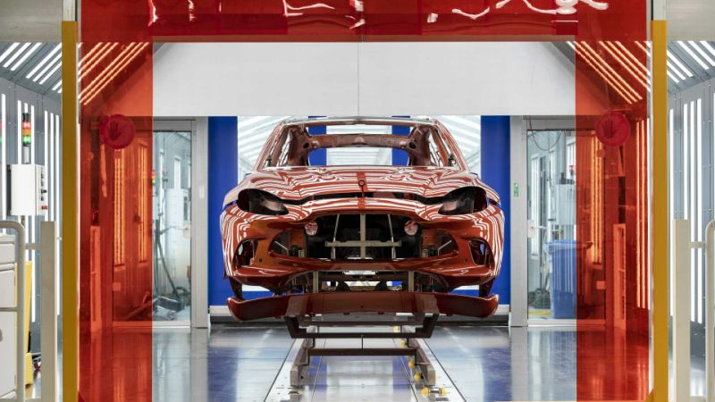 Aston Martin gearing up for production resumption