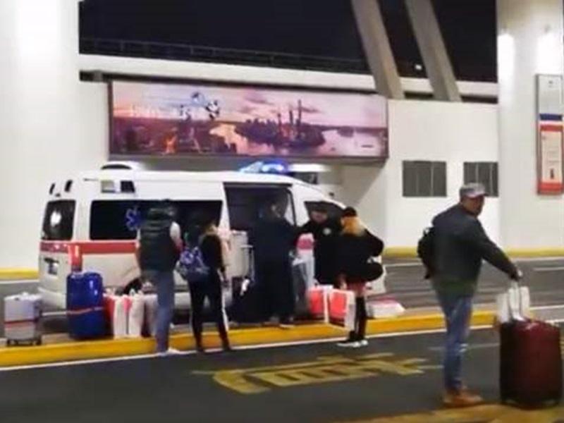救护车机场接机 上海机场证实员工违规使用