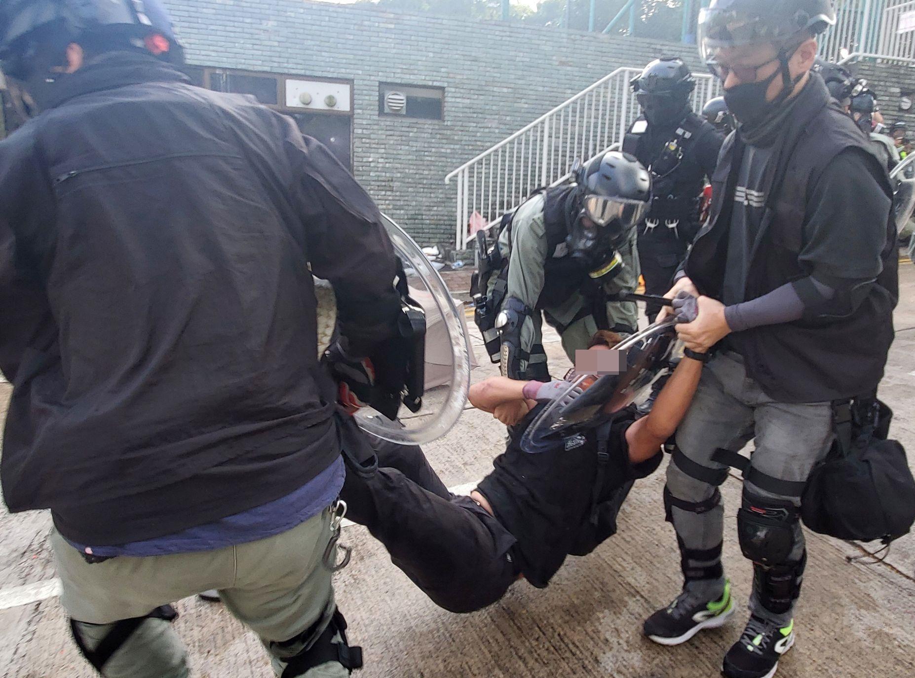 【修例风波】警方过去半年拘捕6022人 4成为学生