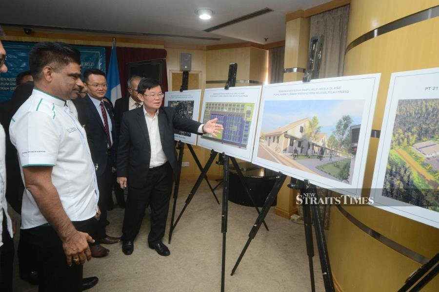 Ladang Kalidonia villagers to get new, free homes by 2022