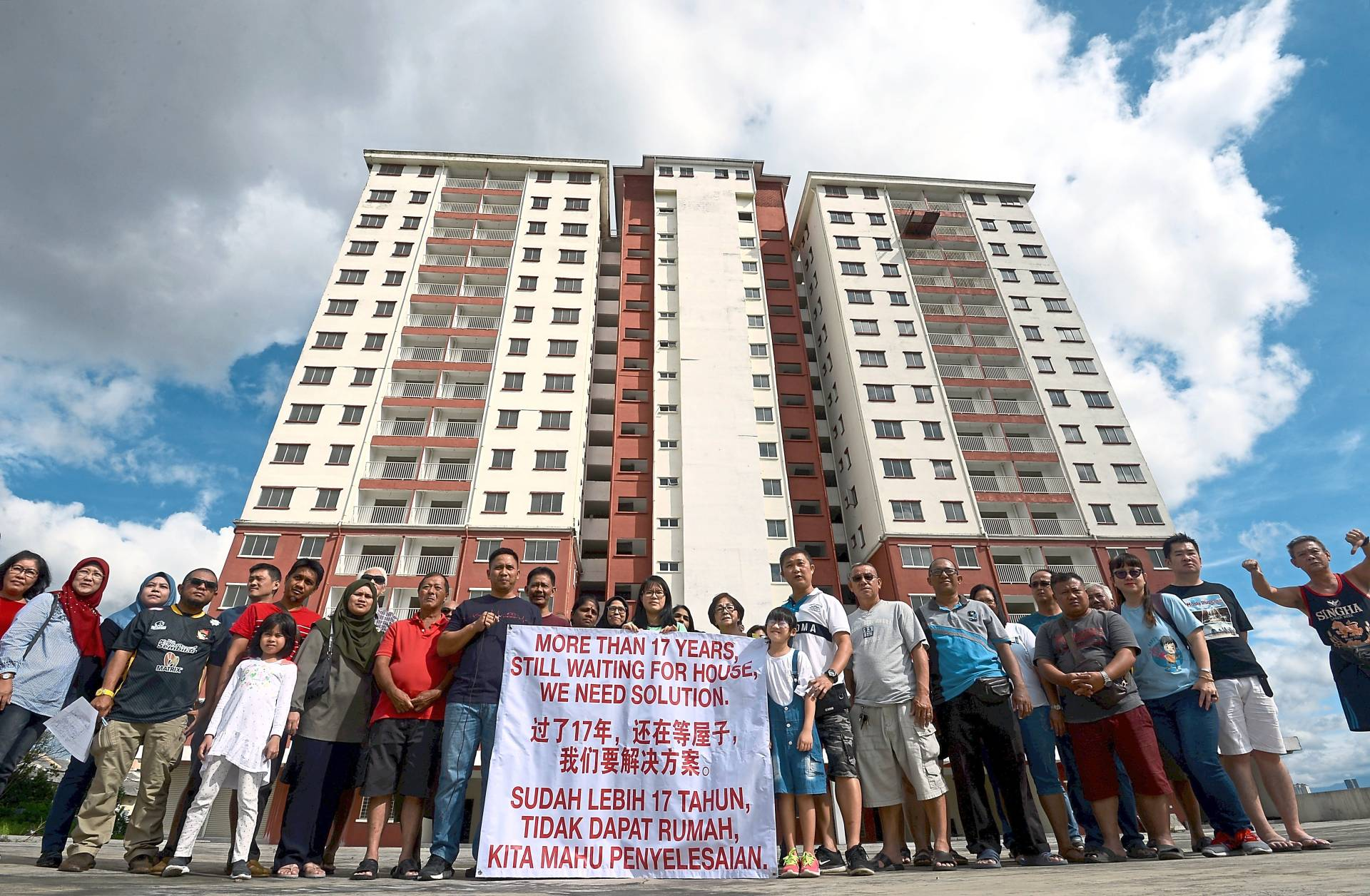 17-year wait for apartment buyers