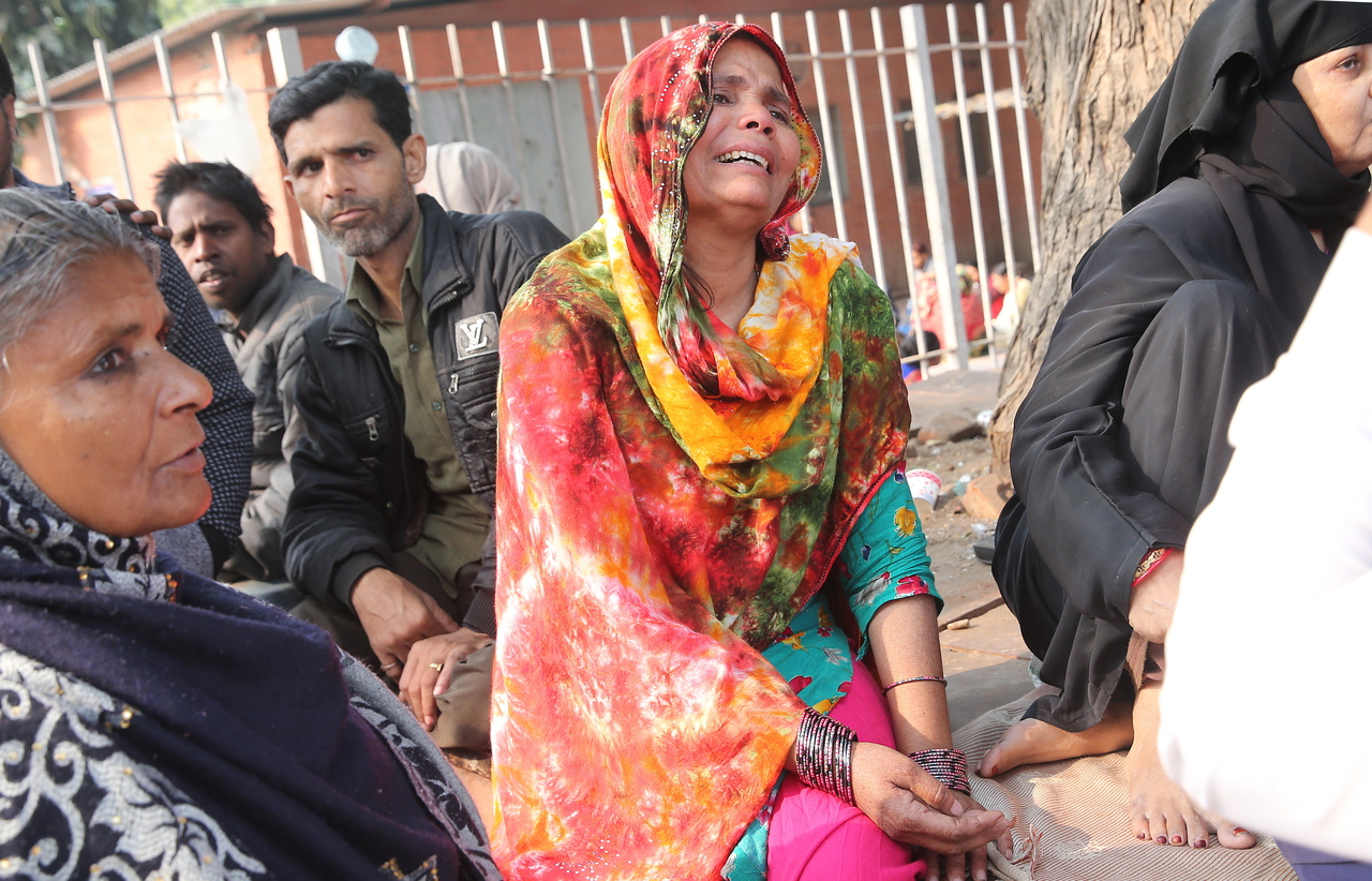 New Delhi fire victims lived and worked in unsafe spaces