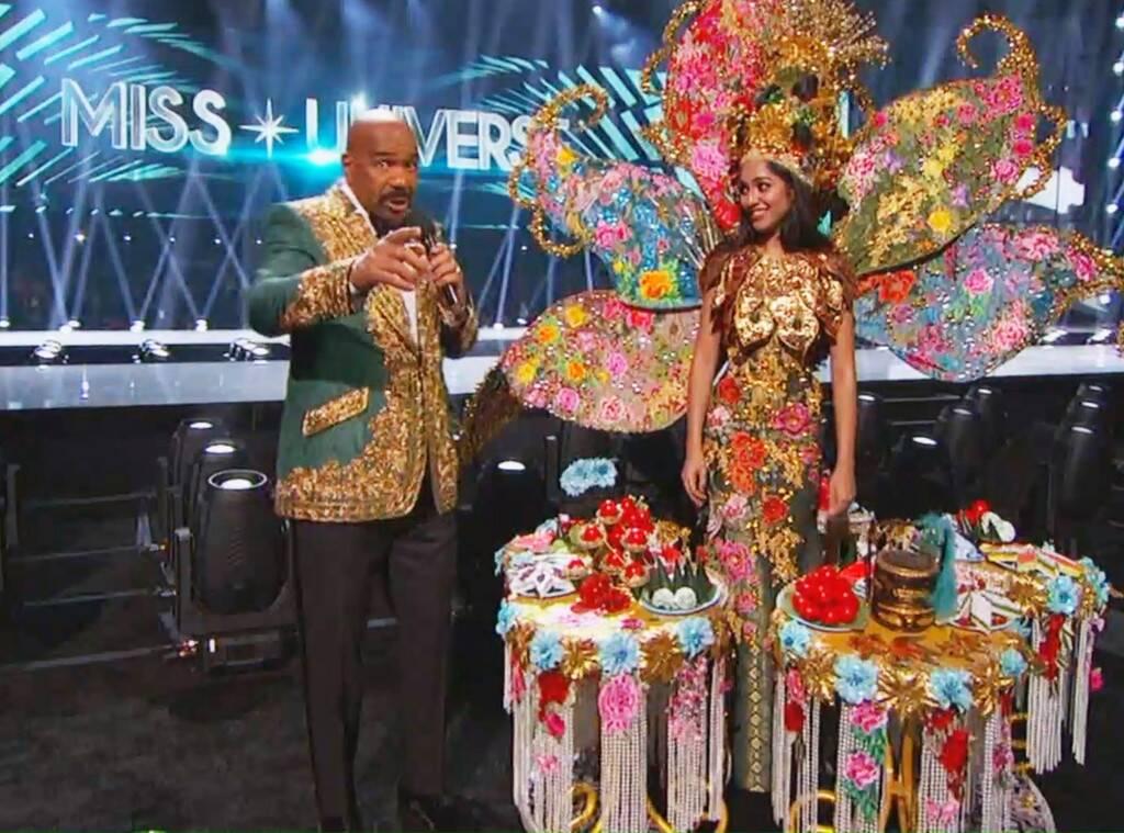 Steve Harvey Announces the Wrong National Costume Winner on Miss Universe 2019