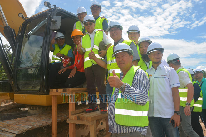 Road projects linking Kapit town on schedule — Masing