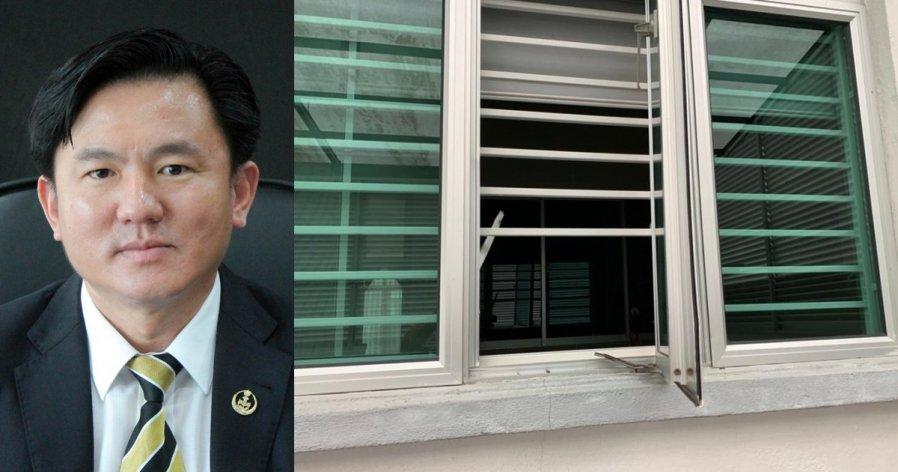 杨祖强住家爆窃案 警方寻获多组指纹送化验