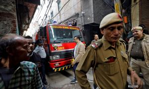 Factory owner, manager nabbed after New Delhi's deadliest fire in 20 years