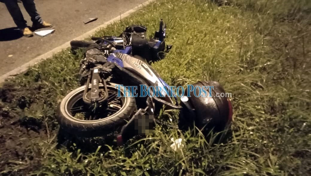 Motorcyclist killed in accident involving two other vehicles in Kuching